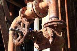 Rust that could have been prevented with anti corrosion coating