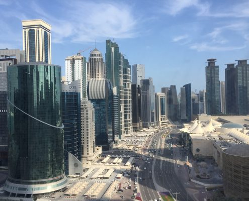 roof coating qatar towers and flat roofs