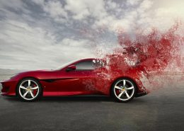 powder coating automotive parts makes beautiful and durable finishes