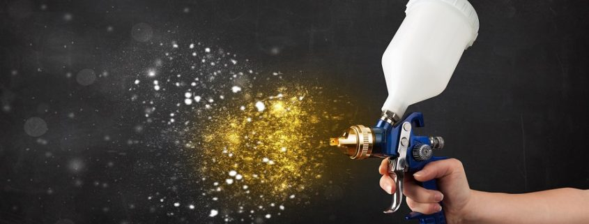 spray guns are industrial coating equipment